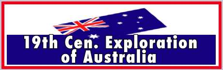 European settlement New South Wales nineteenth century explorers routes