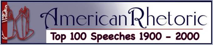 audio database American Speeches by Decade