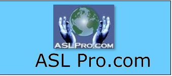 ASL Pro, used by American Sign Language teachers and students, includes many live video dictionaries demonstrating the use of ASL.