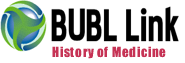 BUBL History of Medicine provides information related to the history of medicine.
