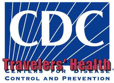Official U.S. Government health recommendations for traveling. Provided by the U.S. Centers for Disease Control and Prevention (CDC).