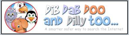 Dib Dab Doo is a kid safe family filtered internet search engine.