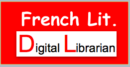 Digital Librarian has links to French Literature.