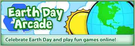 Learn about Earth Day with online games for kids at Funschool.com.