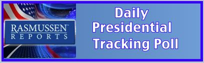 rasmussen daily presidential tracking poll
