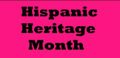 The Hispanic Heritage Month web site from The Library of Congress and The Smithsonian as well as other institutions, includes exhibits, collection, images, audio, video and ideas for teachers.