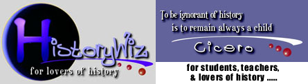History Wiz provides information for teachers, students and all lovers of history.