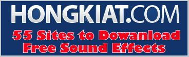 audio files, free sound effects