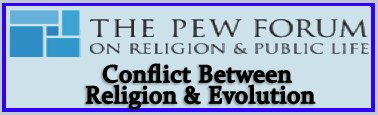 religion evolution conflict