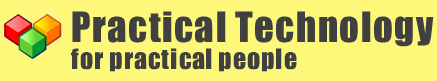 Practical Technology provides information about practical technology for practical people.