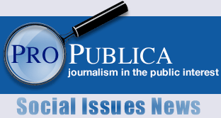 ProPublica provides information related to journalism in the public interest.