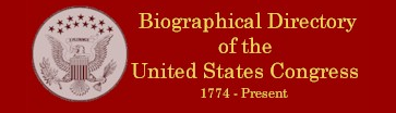 The Biographical Directory of the United States Congress provides information from 1774 to the present.