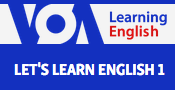 Let's learn English with the Voice of America on the web.