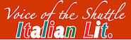 Voice of the Shuttle connects to links about Italian literature.