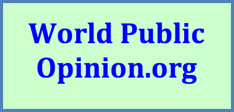 World Opinion Poll is an international collaborative project whose aim is to give voice to public opinion around the world on international issues.